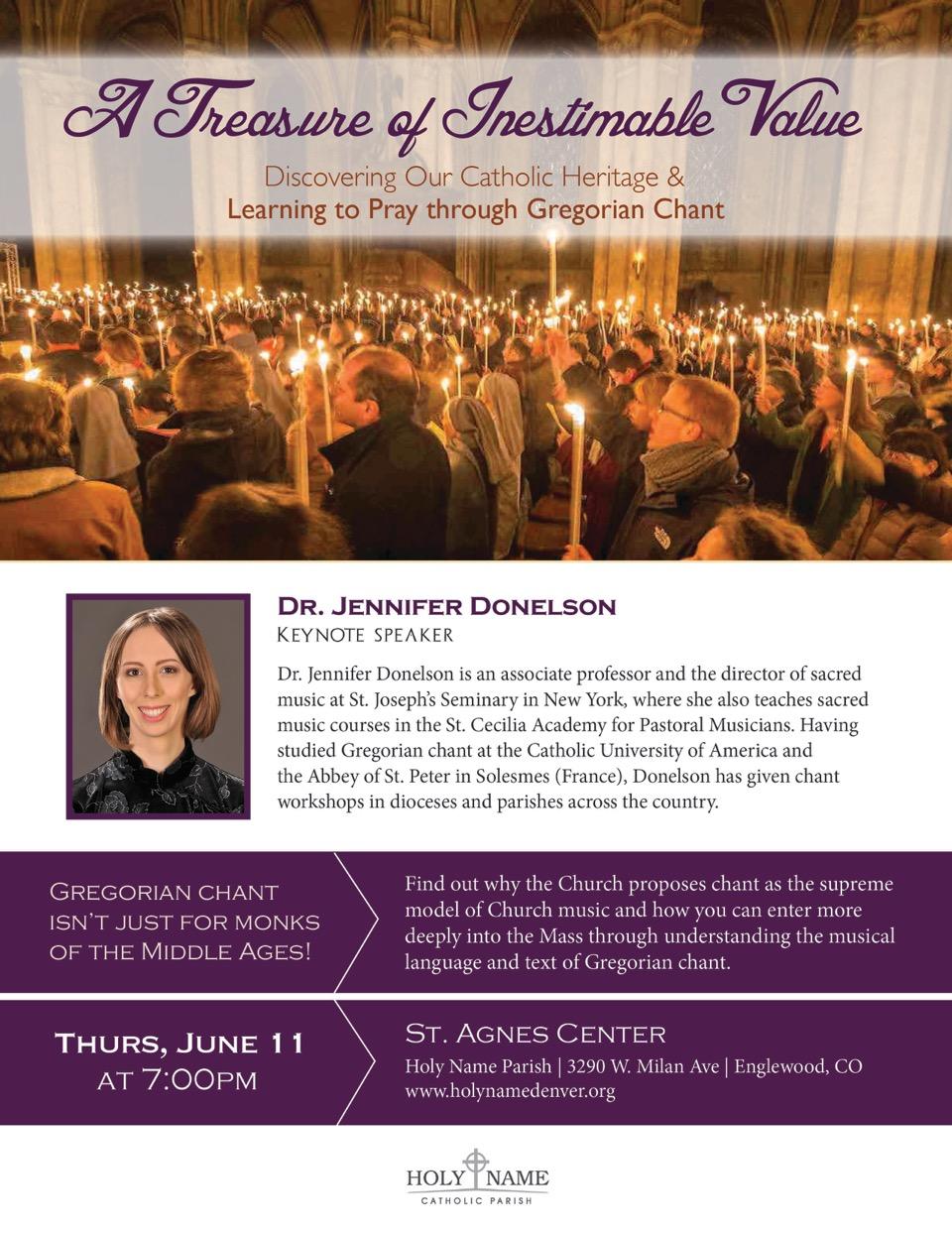 Workshops and Talks | Metropolitan Catholic Chorale
